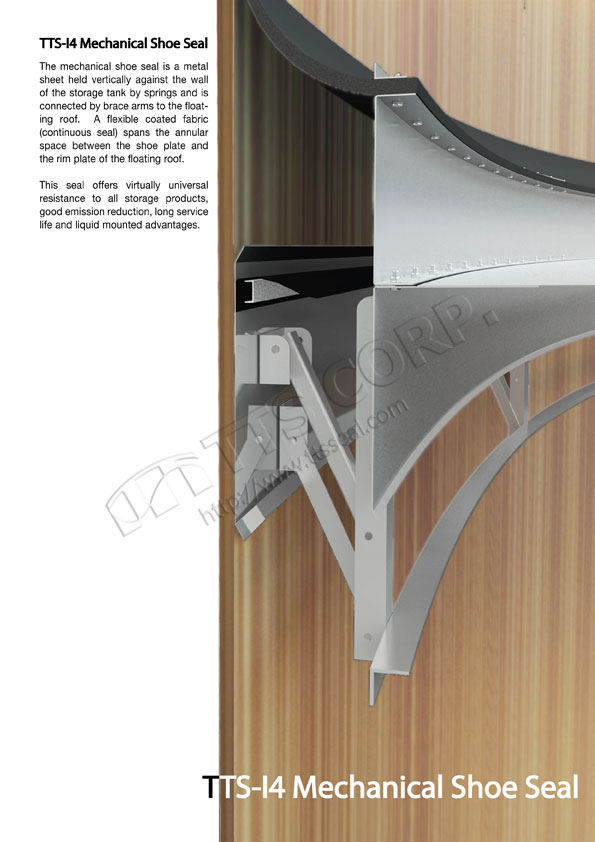 Welcom to TTS - Tank Roof Seal System : IFR Seal System